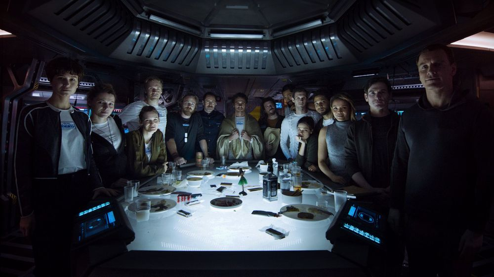 The Alien: Covenant Crew