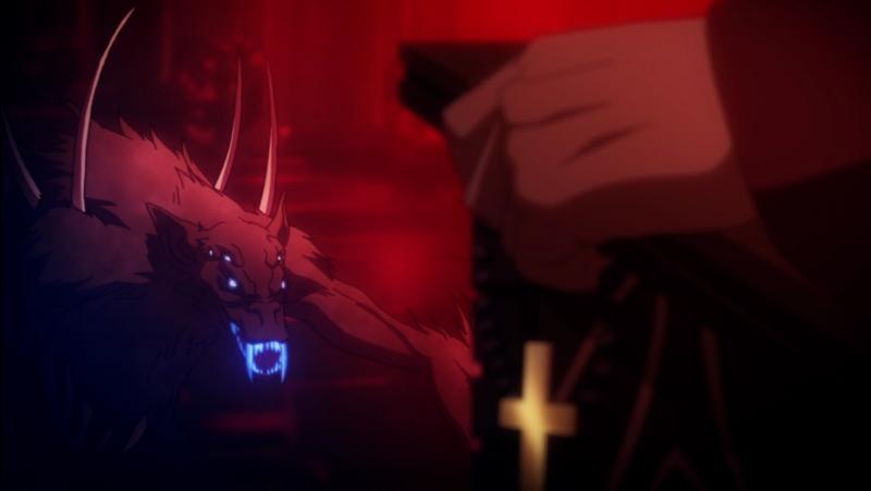 Captura de pantalla de Castlevania de Netflix