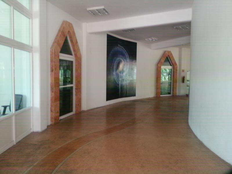 Imagen del interior del Planetario en Chetumal