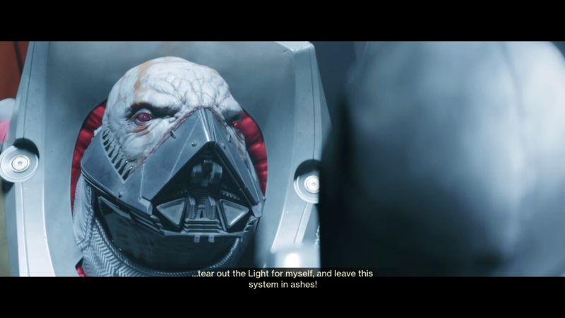 Imagen de Ghaul en Destiny 2, junto con el Speaker