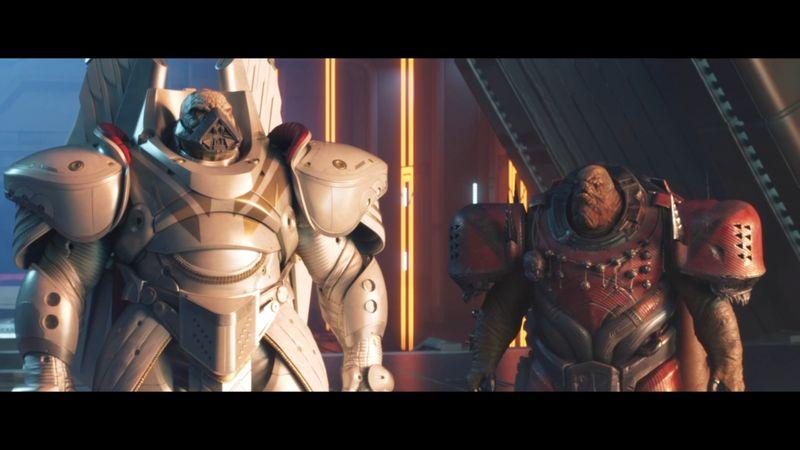 Imagen de Dominus Ghaul junto con el Consul en Destiny 2