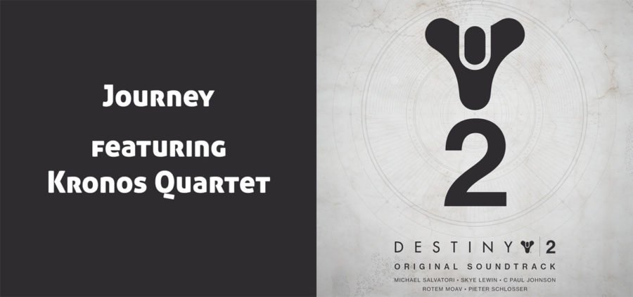 Cover del soundtrack de Destiny 2