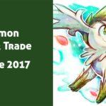 Pokémon Wonder Trade Octubre 2017
