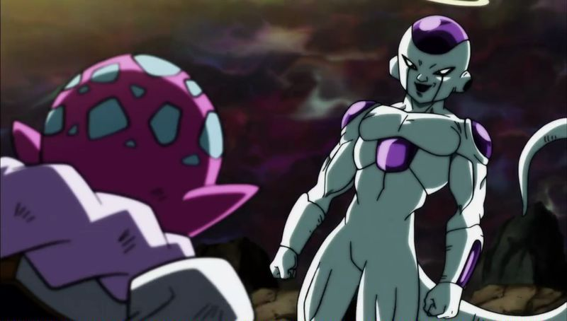 Freezer demostrando que todavía es un villano en Dragon Ball Super