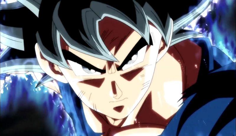 Goku haciendo uso del Migatte no Gokui