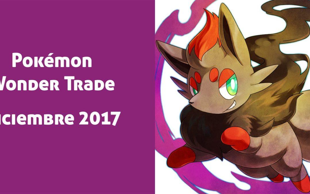 Pokémon Wonder Trade Diciembre de 2017