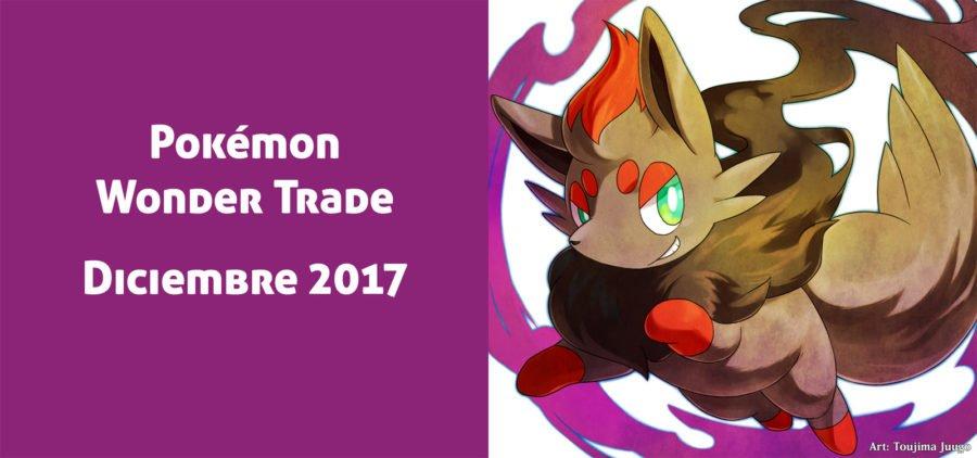 Pokémon Wonder Trade de Diciembre de 2017: Análisis de los intercambios durante el mes.