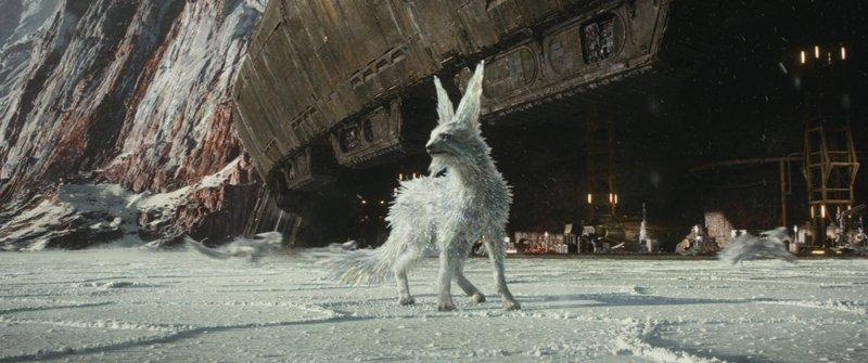 Los Vulpex son unos zorros con pelaje cristalino. Criaturas realmente interesantes introducidas en The Last Jedi.