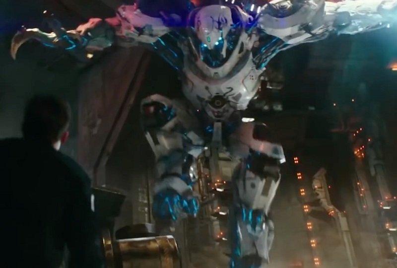 Hibrido de Kaiju y Jeager. De lo mejor que Pacific Rim Upsiring tuvo