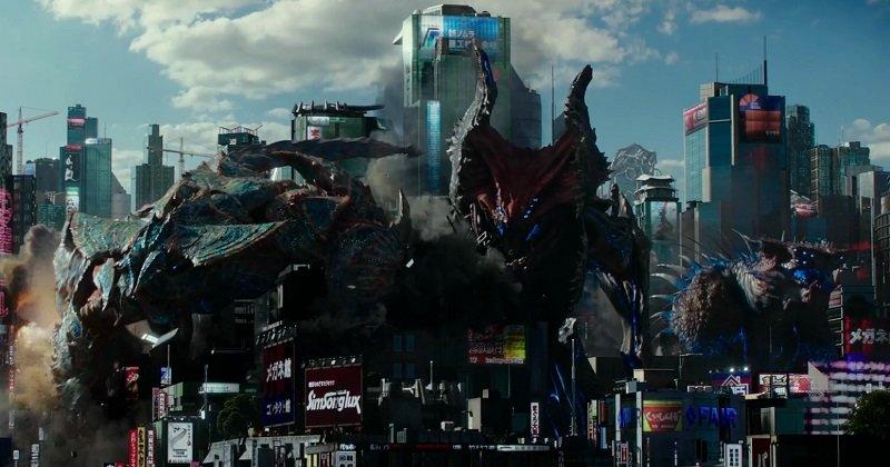 Raijin y los otros Kaijus. Solo por esto vale la pena ver Pacific Rim Uprising