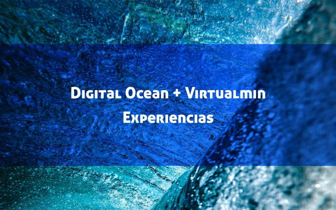 Virtualmin en Digital Ocean: Experiencias