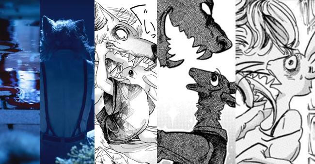 La historia en Beastars nos recuerda constantemente como terminarán las parejas entre herbívoros y carnívoros...